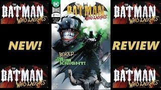 BATMAN WHO LAUGHS #2| GRIM KNIGHT| NCBD