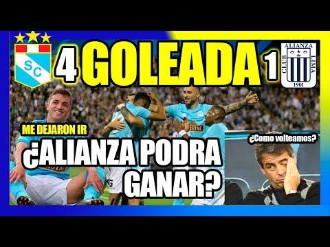 Alianza Lima 1- Cristal 4  Una pesadilla - Final Copa Movistar 2018