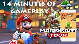 Mario Kart Tour 14 Minutes of Gameplay on iOS