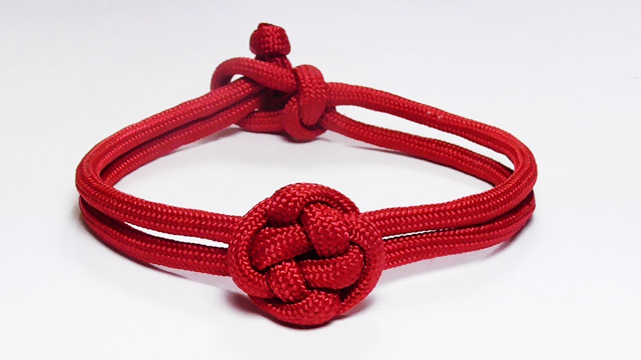 How you can make a chinese button knot paracord bracelet for What can you make out of paracord