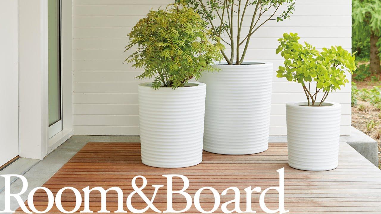 videos ideas advice room board rh roomandboard com room and board modernica planter