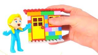 Kids Building Lego House ❤ Cartoons For Kids