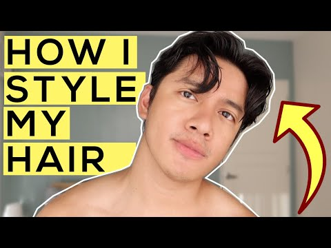how-i-style-my-hair-(middle-part-/-korean-hairstyle)