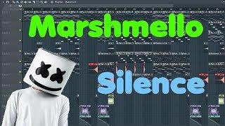 Marshmello • Silence (feat. Khalid) • FL Studio Remake (+FLP Download)