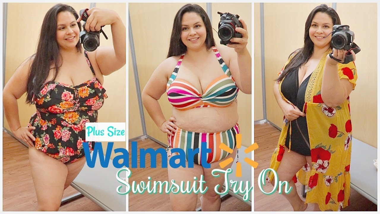 Walmart Swimsuit Try On 2019 Plus Size Affordable Youtube