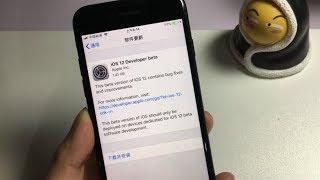 把iPhone7升级到了iOS12测试版,一起来看看有什么新功能!