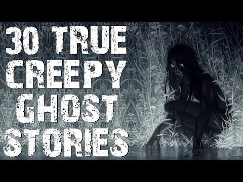 30 TRUE Horrifying Paranormal & Ghost Stories | Mega Compilation | (Scary Stories)