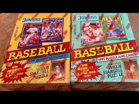 The Worst Cards Ever 6 1991 Donruss Baseball Box Opening Youtube