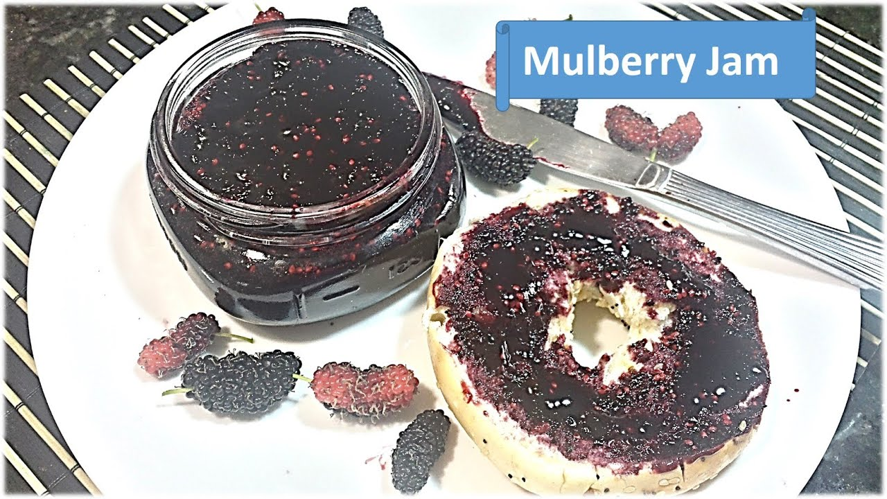 Homemade Organic Mulberry (Shetur) Jam without Pectin and Preservatives by  RinkusRasoi