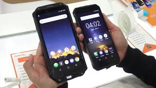 Oukitel WP1 and WP2, rugged phones (IP68) with big battery Mp3