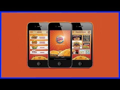 Бесплатная еда Как бесплатно поесть в Бургер Кинге приложение Burger King еда на халяву