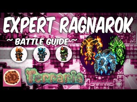 Terraria 1.3 Thorium Mod Expert Ragnarok Battle Guide! | Post Moon Lord New Bosses