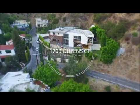 Hollywood Hills Architectural Masterpiece 1700 Queens Road Short - Hollywood-hills-architectural-masterpiece