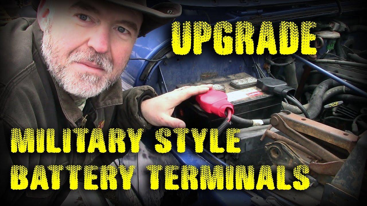 battery terminal upgrade military spec 95 jeep wrangler yj youtube 94 Jeep Wrangler Green battery terminal upgrade military spec 95 jeep wrangler yj