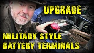 Battery Terminal Upgrade - Military Spec - 95 Jeep Wrangler YJ