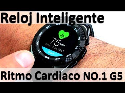 Para Medir Cardiaco 1 No Unboxing G5 Watch Inteligente Reloj Smart El Ritmo SzUpMV