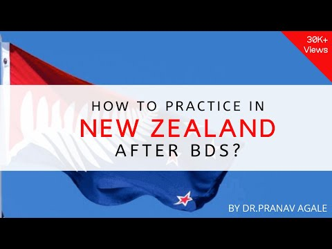 How To Practice In New Zealand After BDS ?   How To Go ABROAD After BDS ?