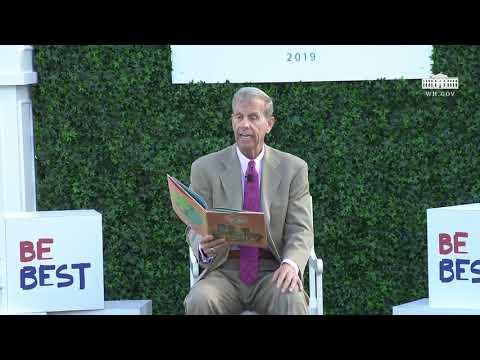 The White House: White House Easter Egg Roll Reading Nook - Assistant Secretary of Education Frank Brogan