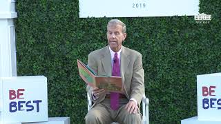 White House Easter Egg Roll Reading Nook - Assistant Secretary of Education Frank Brogan