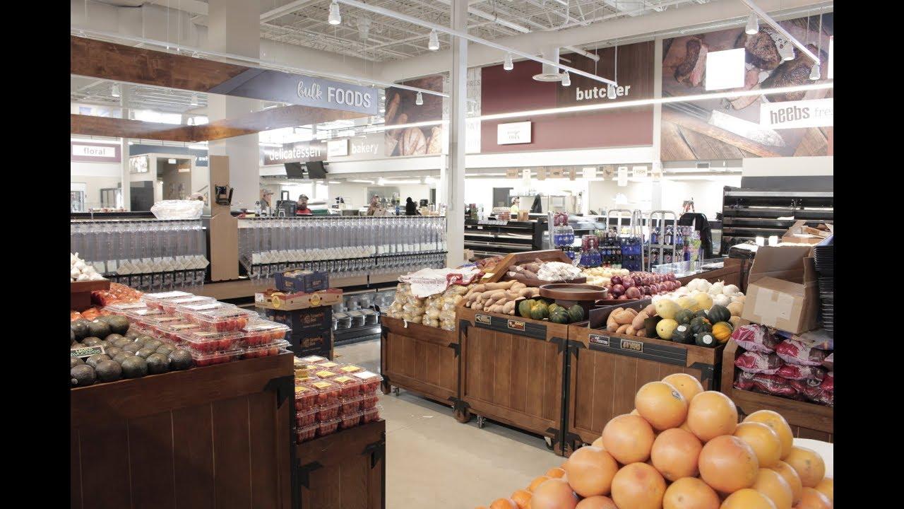 0bef92e333 Sneak Peek Inside New Heebs Fresh Market - YouTube