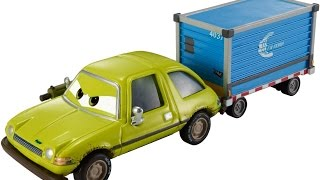 Disney Pixar Cars, Airport Adventure 2015 Series Deluxe Acer with Luggage Cart Die-Cast Vehicle Toy