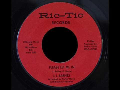 J.J. Barnes - Please Let Me In