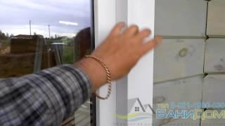 как сделать обналичку пластиковых окон в деревянном доме