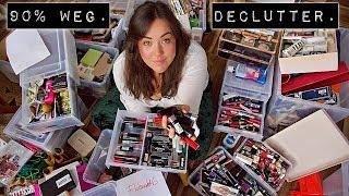 XXL Declutter - Ihr könnt 90% meiner Makeup Kollektion haben I Alles muss raus
