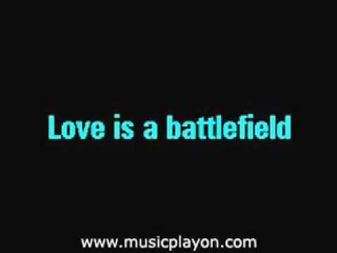 Pat Benatar - Love Is A Battlefield  (karaoke)