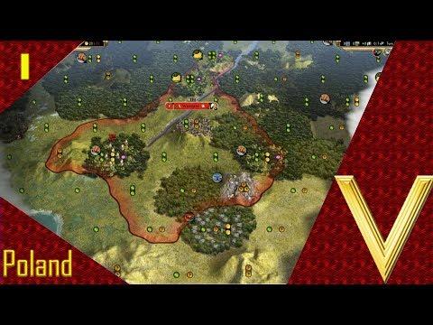 Sid Meier's Civilization V Ep.1 - Let's Play Poland |