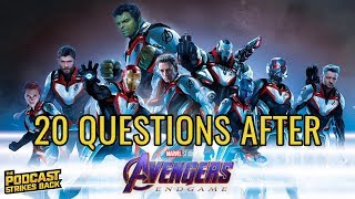 20 Questions After Watching Avengers: Endgame