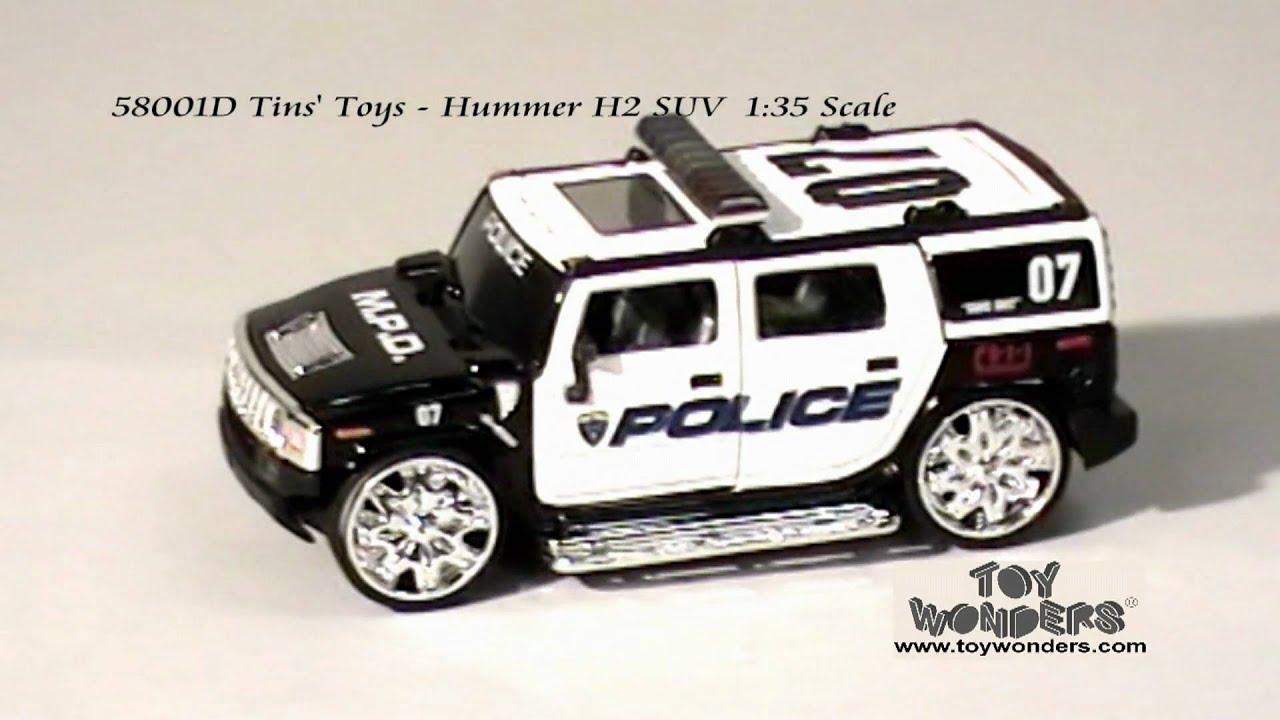 D Tins Toys Hummer H2 SUV 135 Diecast Wholesaleg