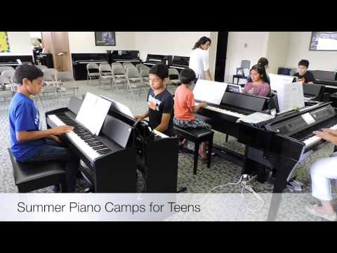 Summer Camp at Valley Keyboards in McAllen, Texas | Piano Lessons in McAllen