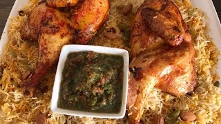 Chicken Mandi Saudi Style With Smokey Flavoured Rice (English Subtitles)