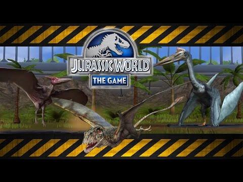Jurassic World Aviary: Pteranodon, Tapejara & Quetzalcoatlus