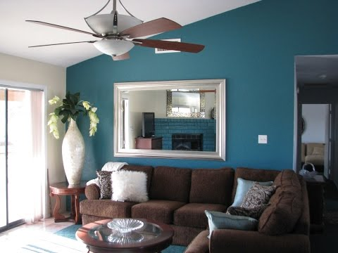 Interior Design Ideas Brown Couch