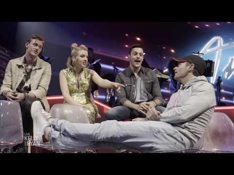 """Ryan Goes Behind the Scenes Of """"American Idol"""""""