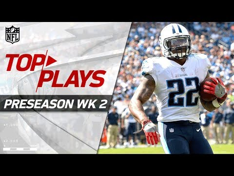 Top Plays of Week 2 | NFL Preseason Highlights