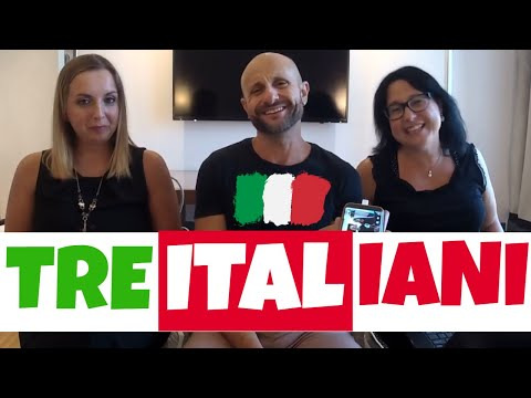 Italian Listening Practice: Casual Chat In Italian With Manu & His Team (video In Italian)