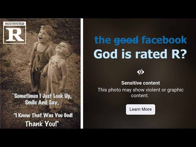Facebook Says G-d is Rated R