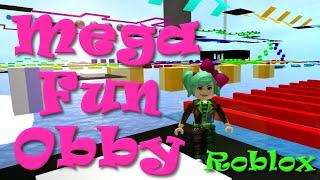 ROBLOX   Mega Fun Obby   SallyGreenGamer