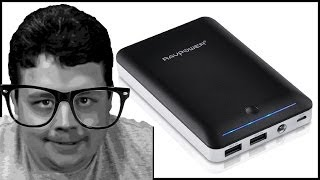 Reviewing the RAVPower Dynamo ON-THE-GO Power Bank w/ massive 14,000mAh battery!