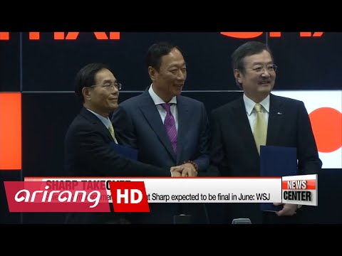 Sharp unveils major management changes ahead of Foxconn takeover