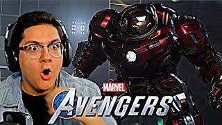 Marvel's Avengers Game - Beta Trailer and Hulkbuster Gameplay REACTION!