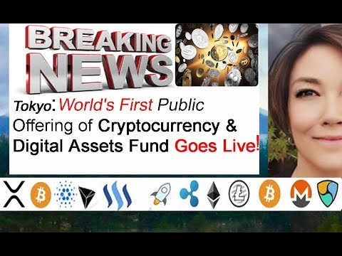 World's FIRST public offering Cryptocurrency Digital Assets