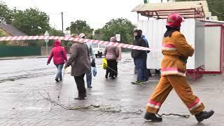 24 сентября - последствия штормового ветра в Пинске