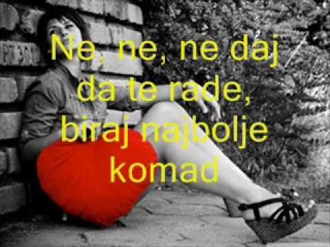 Zeljko Samardzic -  Ne daj da te rade (Sa tekstom)