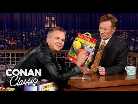 """Tim Robbins On """"Late Night With Conan O'Brien"""" 10/16/03"""