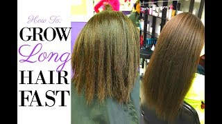 How to grow long hair fast! | 10 tips to grow natural hair