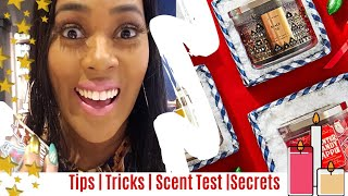 Bath & Body Works Candle Day Secrets & Tips! New Candles! Vlogmas Day 6 | One Cute Couponer